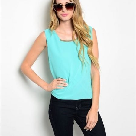 Mint Blue Shirt